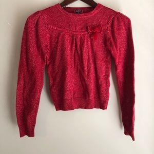 Girls children's place sparkly sweater